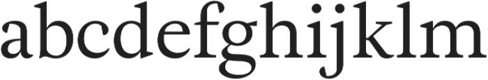 Adriane Text Regular otf (400) Font LOWERCASE