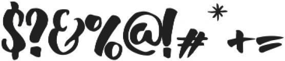 Adriena Type ttf (400) Font OTHER CHARS