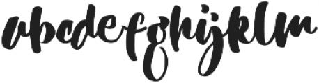 Adriena Type ttf (400) Font LOWERCASE