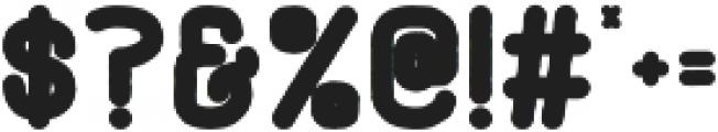 Adrift Bold otf (700) Font OTHER CHARS