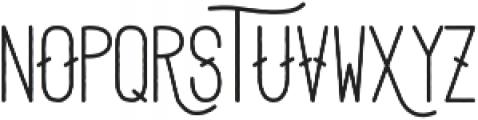 Adrift otf (500) Font UPPERCASE