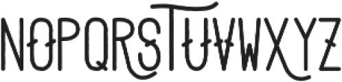 Adrift otf (700) Font UPPERCASE
