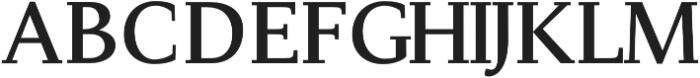 Adrina otf (700) Font UPPERCASE