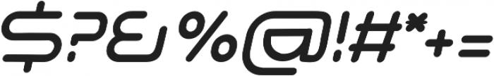 Adura Italic otf (400) Font OTHER CHARS