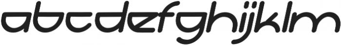 Adura Italic otf (400) Font LOWERCASE