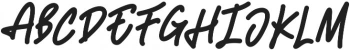 Adventura Medium otf (500) Font UPPERCASE