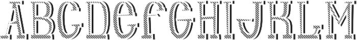 Adventure TextureAndShadowFX otf (400) Font UPPERCASE