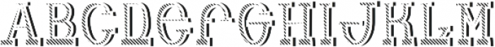 Adventure TextureAndShadowFX otf (400) Font LOWERCASE
