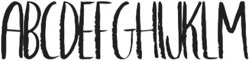 Adventure otf (400) Font LOWERCASE