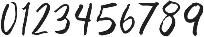Adventurous Script otf (400) Font OTHER CHARS