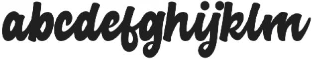 Advocate Script otf (400) Font LOWERCASE