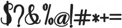 adaline script Bold otf (700) Font OTHER CHARS