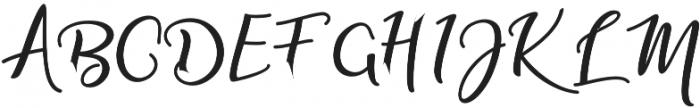 adaline script Bold otf (700) Font UPPERCASE