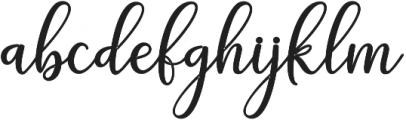 adaline script Bold otf (700) Font LOWERCASE