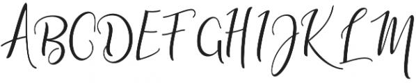 adaline script thin otf (100) Font UPPERCASE