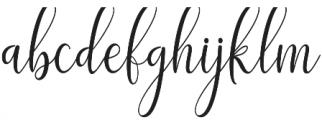 adaline script thin otf (100) Font LOWERCASE