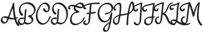 adelitha otf (400) Font UPPERCASE