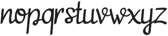 adelitha otf (400) Font LOWERCASE