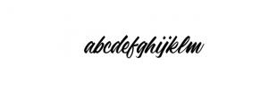Adelaide.ttf Font LOWERCASE