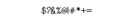 AdfontureTypeface.ttf Font OTHER CHARS
