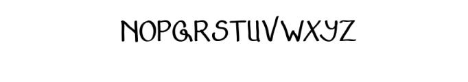 AdfontureTypeface.ttf Font UPPERCASE