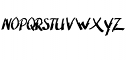 Adventura.ttf Font LOWERCASE