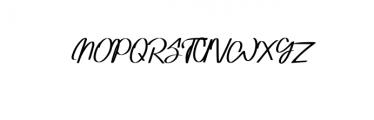 Adventure Font UPPERCASE