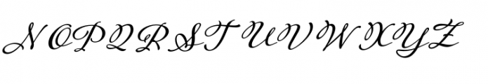 Adorn Garland Smooth Font UPPERCASE