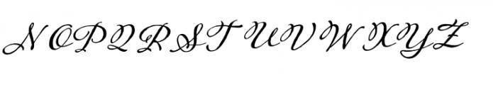 Adorn Garland Font UPPERCASE