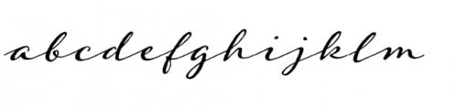 Adorn Garland Font LOWERCASE