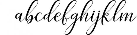 Adaline Script Font Family 1 Font LOWERCASE