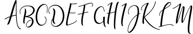 Adaline Script Font Family 2 Font UPPERCASE