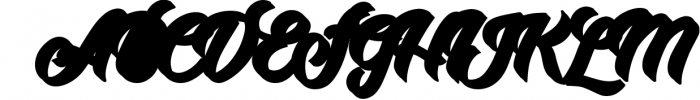 Adamantine 2 Font UPPERCASE