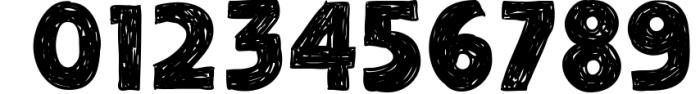 Adelard Scratches Font Font OTHER CHARS