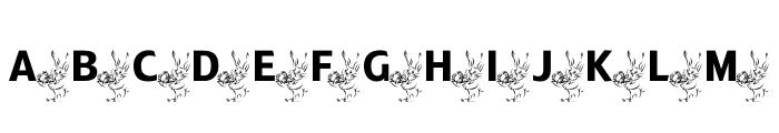 ADFBEasterBunny Font UPPERCASE