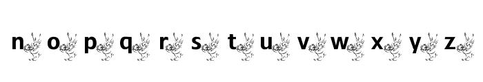 ADFBEasterBunny Font LOWERCASE