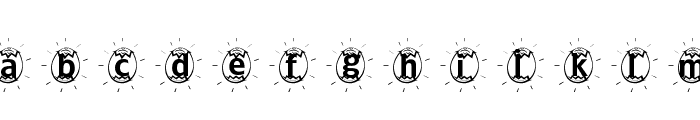 ADFBEasterEgg Font LOWERCASE