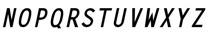 Adagio BoldItalic Font UPPERCASE