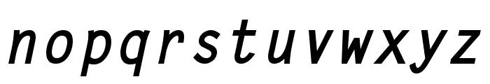 Adagio BoldItalic Font LOWERCASE
