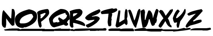 Adam Warren pro Bold Italic Font UPPERCASE