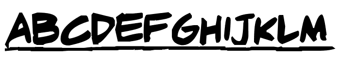 Adam Warren pro Bold Italic Font LOWERCASE