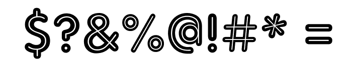 AdamGorry-Inline Font OTHER CHARS