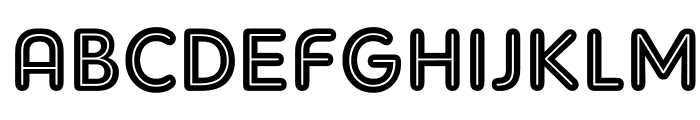 AdamGorry-Inline Font UPPERCASE