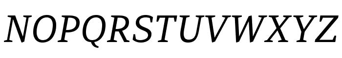 AdamantBG-Italic Font UPPERCASE