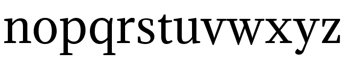 Adamina-Regular Font LOWERCASE