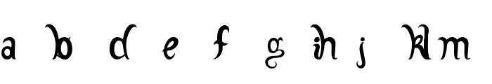 Adamstype Font LOWERCASE
