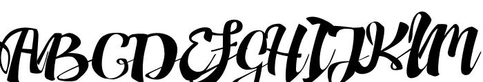Adefebia Free Font Font UPPERCASE