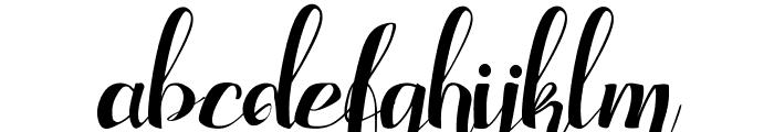 Adefebia Free Font Font LOWERCASE