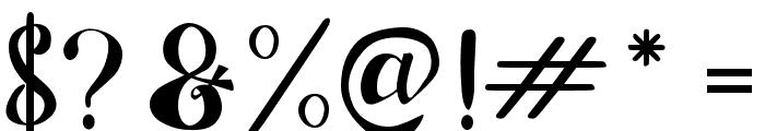 AdefebiaFreeFont Font OTHER CHARS