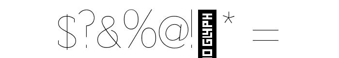 Adelaide-Regular Font OTHER CHARS